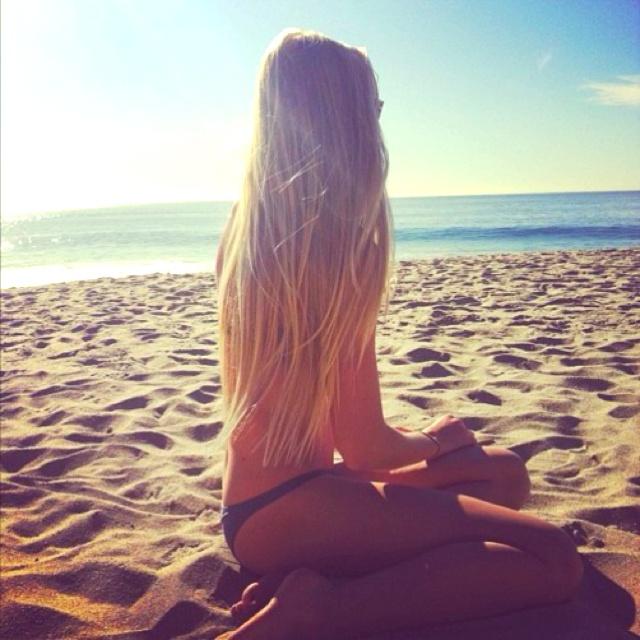 Beach Day Hair