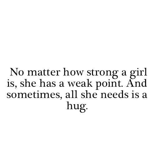 sometimes all you need is a hug.