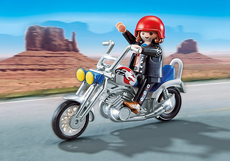 Chopper BLEU - 5526 - PLAYMOBIL® France