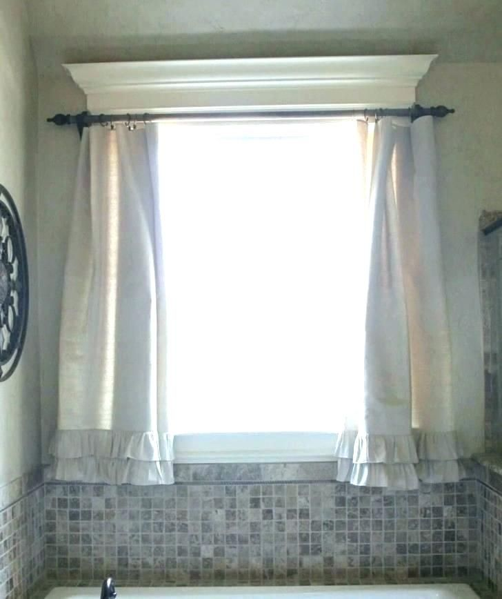 Small Curtain For Bathroom Window In 2020 Bathroom Window Curtains Small Bathroom Window Curtains
