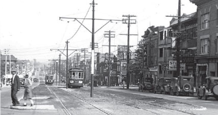 STREETCAR BARNS | Celebrate the streetcar line that made St. Clair West the thriving ...