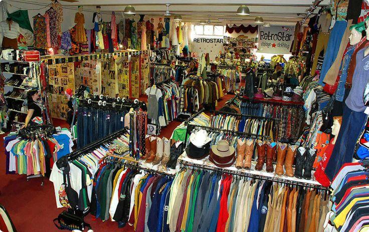 Retro Star Vintage Shops Melbourne Vintage Clothing Stores Vintage Outfits Store Design Interior