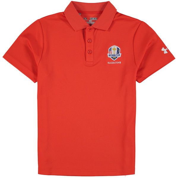 Ryder Cup Youth 2016 Ryder Cup Performance Polo - Orange - $37.49