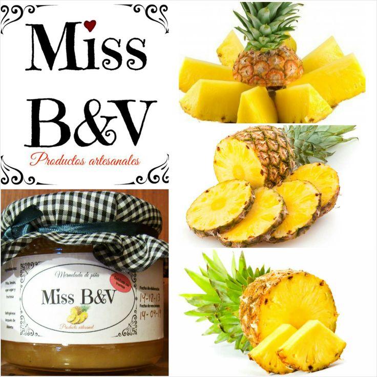 """La piña, """"anana"""" llamada dulcemente por los indios guraníes,""""a"""" por fruta y """"nana"""" por sabrosa. Esta mermelada es una de las estrellas de Miss B&V!"""