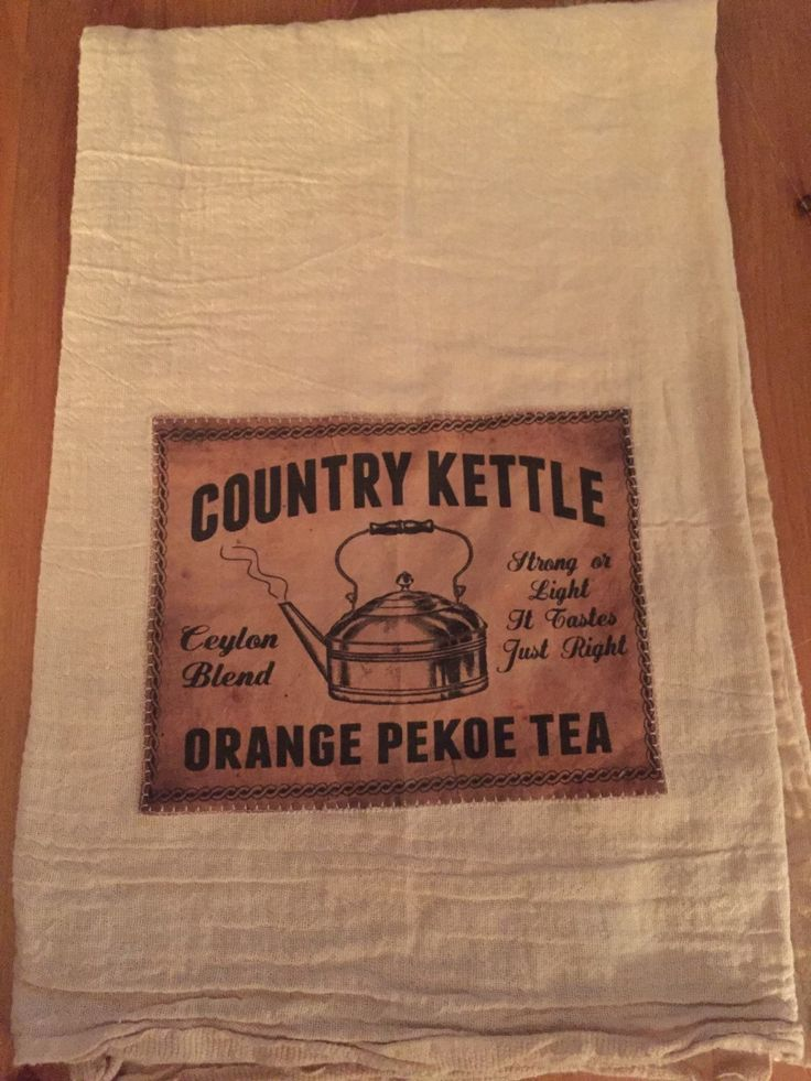 A personal favorite from my Etsy shop https://www.etsy.com/ca/listing/265745444/country-kettle-floursack-tea-towel