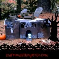 A Haunted Castle Bean Bag Toss – A Kid Friendly Thing To Do Game