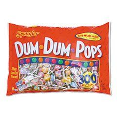 Spangler Dum Dum Pops Candy, 300-Count Sold by the Pack. Individually Wrapped. Assorted Flavors. 300 Pop Pack. Non-Returnable per FDA Regulations.  #Spangler #Grocery