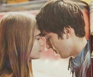 First still of Paper Towns movie with Cara Delevigne and Nat Wolff.