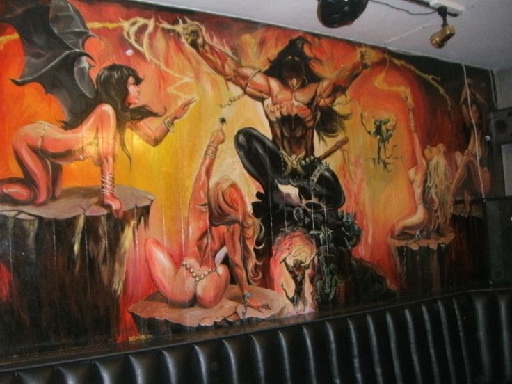 The mural at the Sir Charles Napier