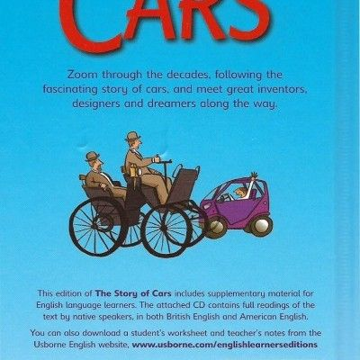'The Story of Cars': Book & CD - a lively account of the story of cars - for children growing in reading confidence.