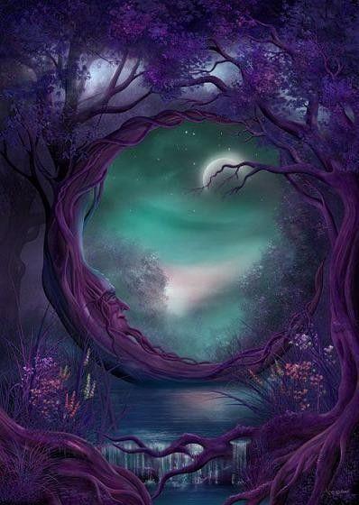 arbre mystérieux