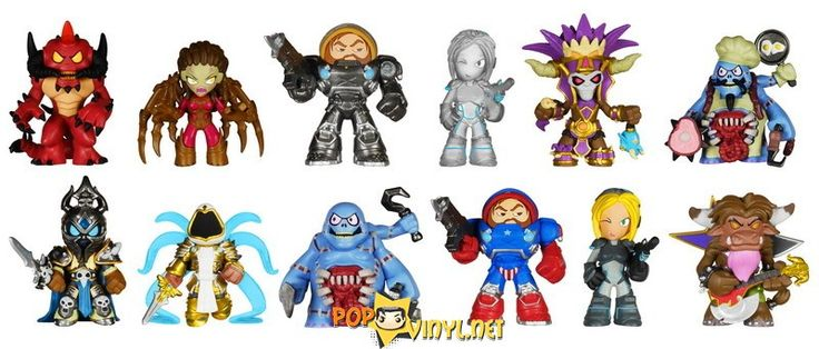 Blizzard Heroes of The Storm Funko Mysery Minis http://popvinyl.net/news/blizzard-heroes-of-the-storm-funko-mysery-minis/  #blizzard #mysterymini