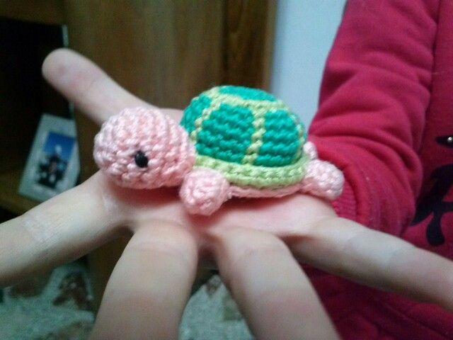 Tartaruga amigrumi