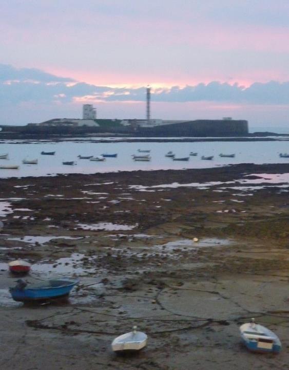 #Cádiz, playa de la Caleta
