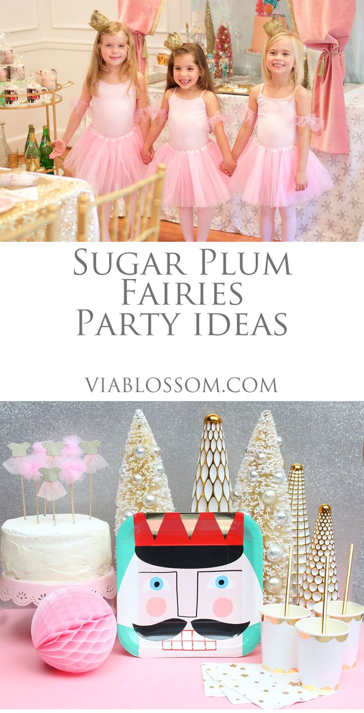 Sugar Plum Fairy Party Ideas and Party Supplies for a Magical ...
