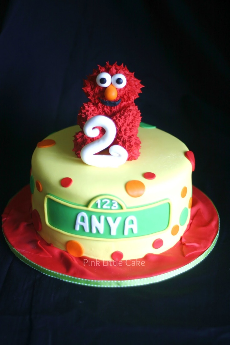 17 Best Images About Elmo Cake Ideas On Pinterest The O
