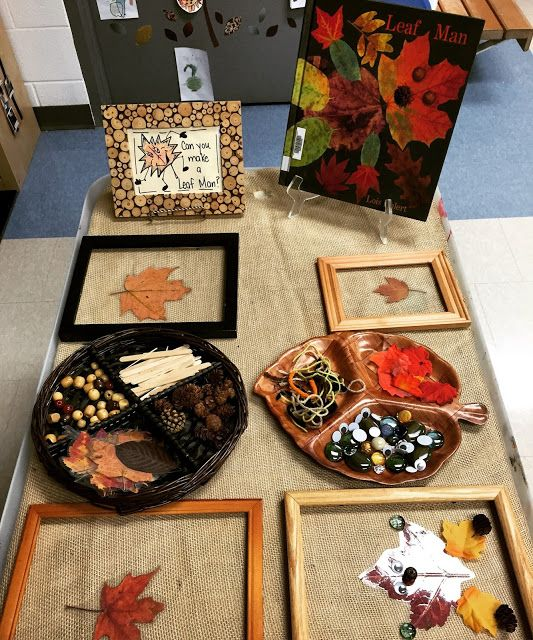Thinking and Learning in Room 122: Embracing Fall: Leaves, the Farm & Soup! Leaf Man provocation in Kindergarten