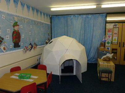 Igloo Display, classroom display, class display, weather, winter, Penguin, ice, cold, freezing, icicle,snow, Early Years (EYFS), KS1&KS2 Primary Resources