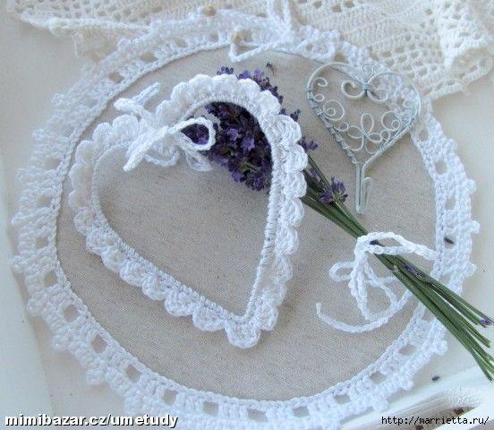 Coeurs de crochet de fil Avec cerclage (5) (552x480, 153Kb) joli tuto