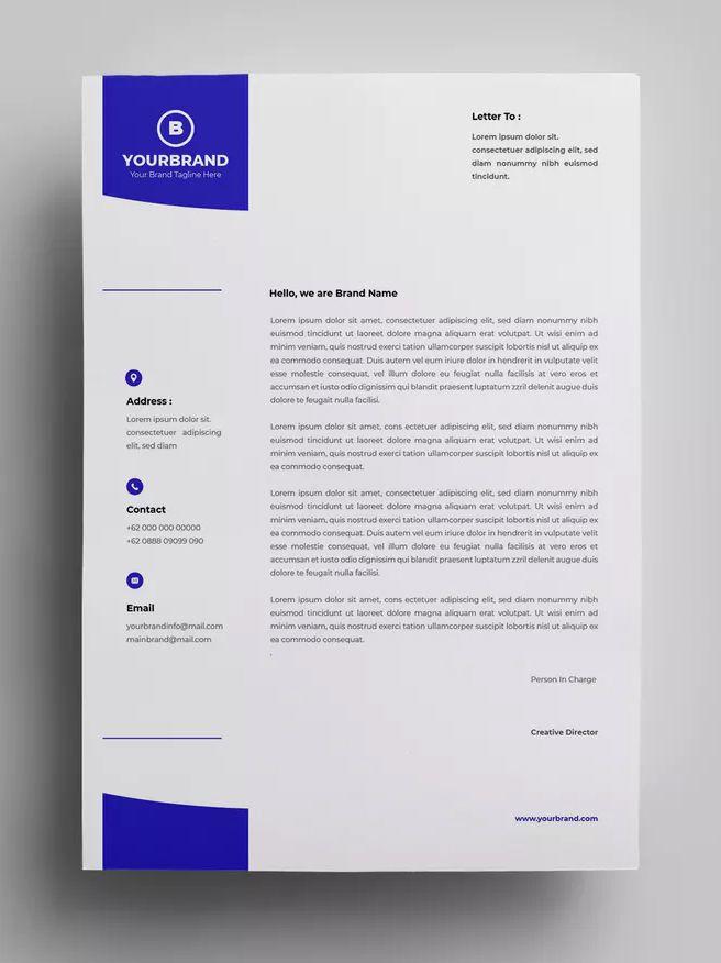 Letterhead Design Templates 20 By Surotype On Letterhead Design