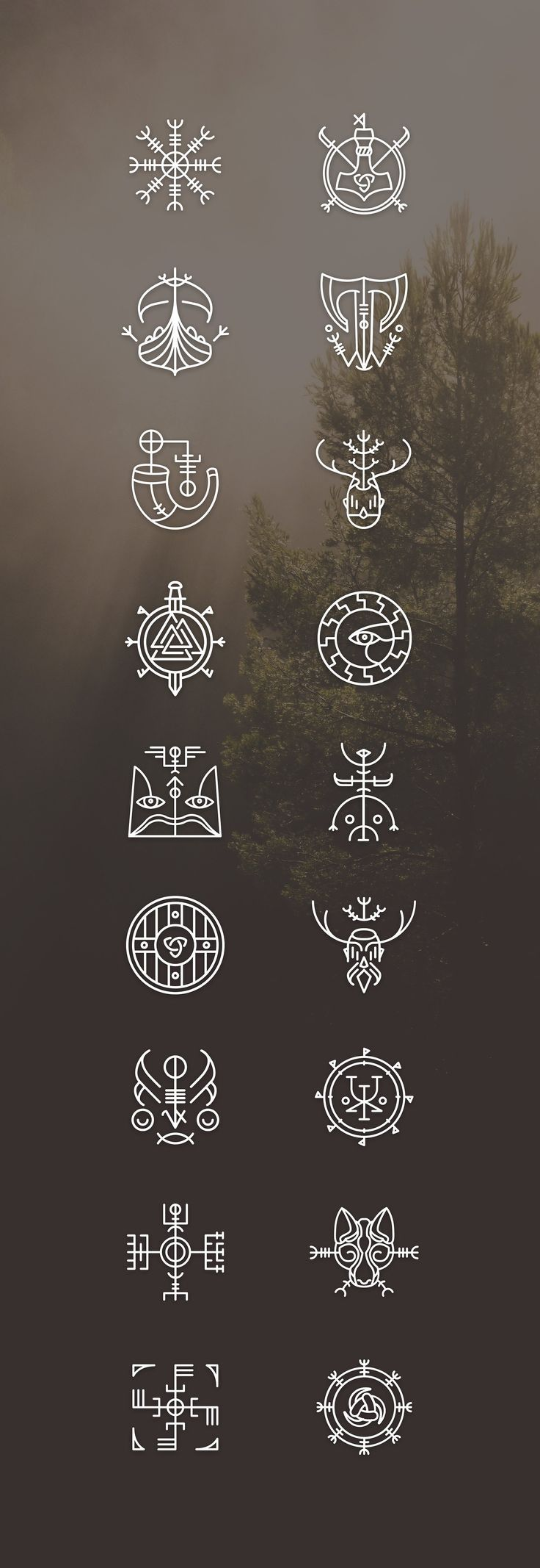 Vikons: the Striking #Viking #icon set by blanaroo…