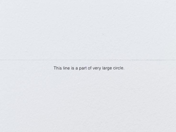 """""""This line is a part of very large circle."""" - Yoko Ono"""