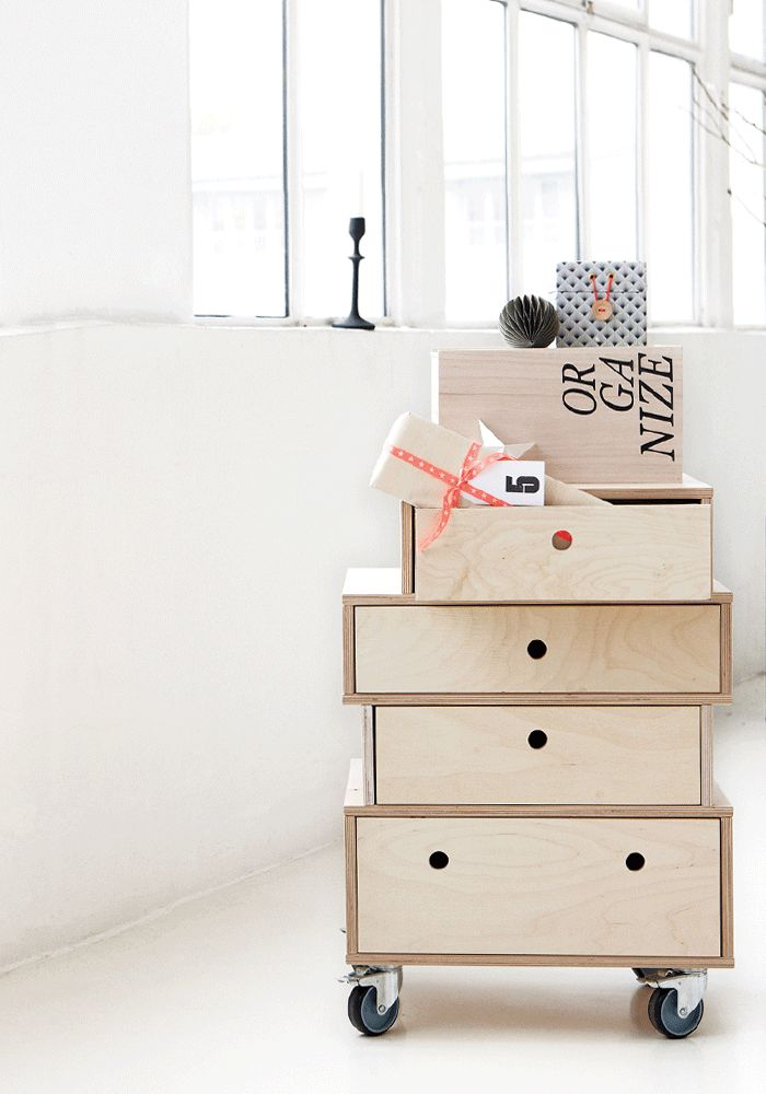 Wooden side table, Natural by House Doctor DK — BODIE and FOU - Award-winning inspiring concept store
