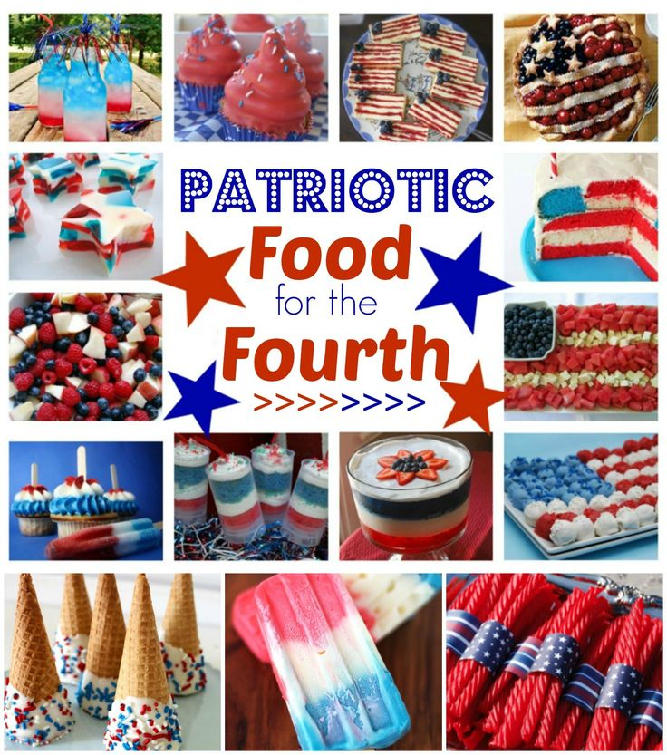 Fun patriotic foods for the Fourth!