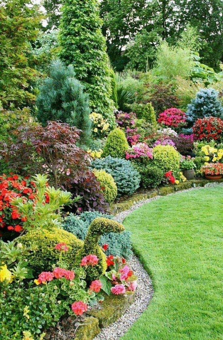 30 Best Front Yard And Backyard Landscaping Ideas on A Budget #BackyardLandscaping #FrontYard