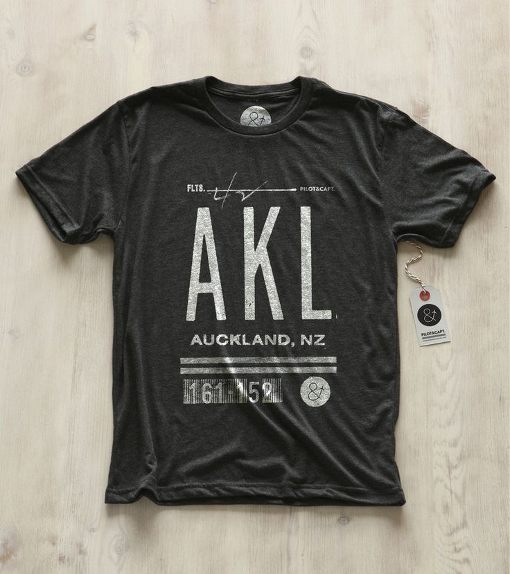 Pilot & Captain's Auckland, New Zealand tee shirt.  Get it here: http://pilotandcaptain.com/products/auckland-akl