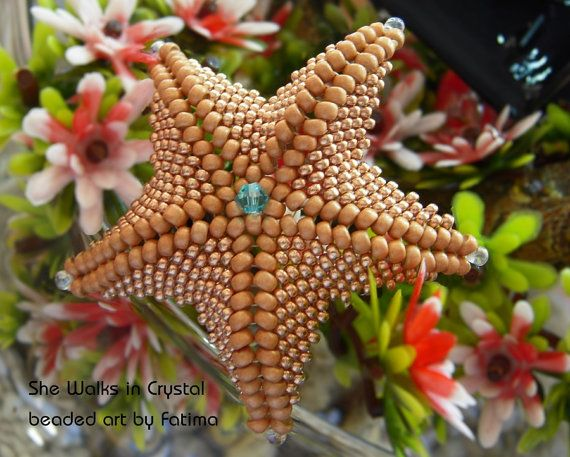 Sea Star TUTORIAL all about the shape by SheWalksinCrystal