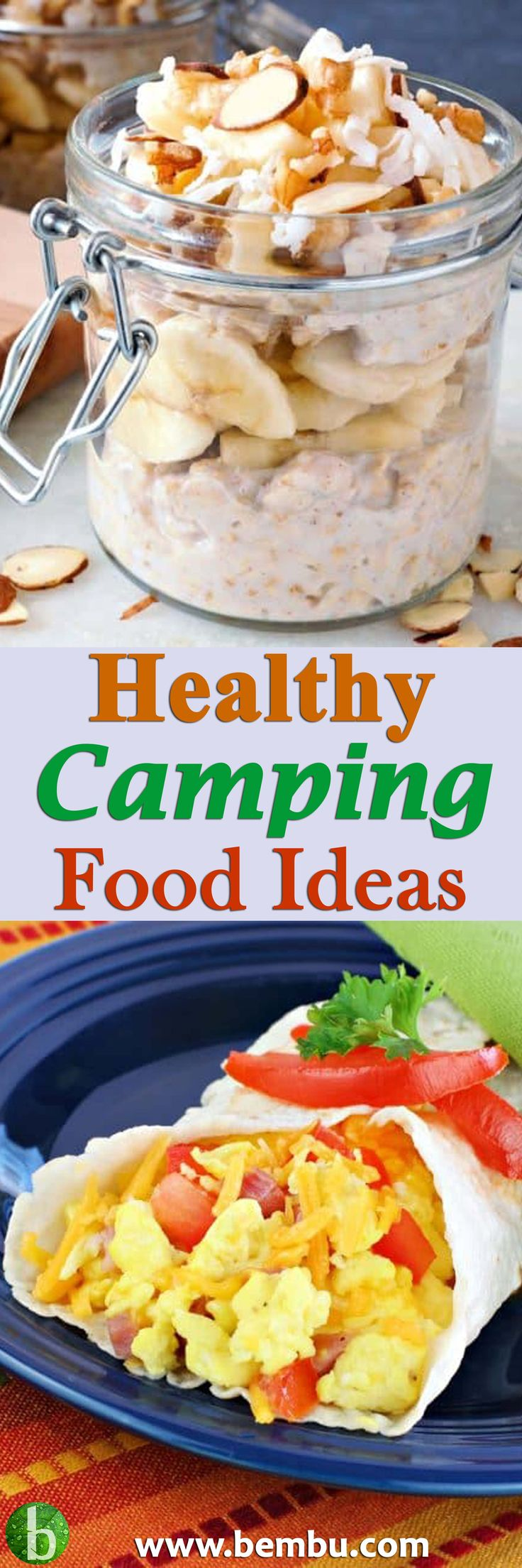 Healthy Camping Food Ideas Recipes