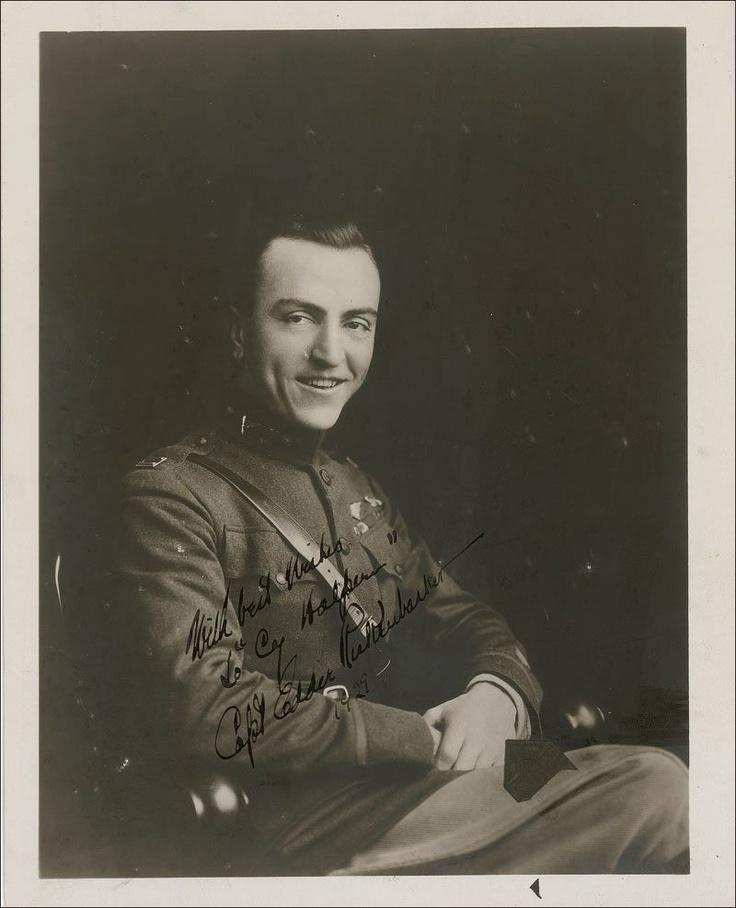 Eddie Rickenbacker, 1918