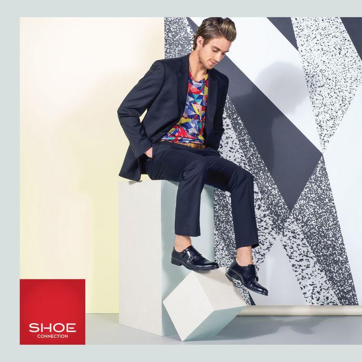 Shoe Connection Spring Summer 14/15 Campaign. Mens Style - Suit - Bright. Shop: http://www.shoeconnection.co.nz/