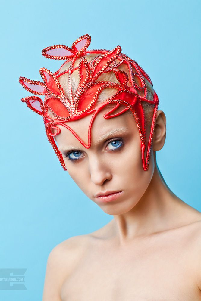 Headdress by Yana Markova / Маска - Яна Маркова. https://instagram.com/yana_markova_art/ headdress / headpiece /головные уборы / style / mask