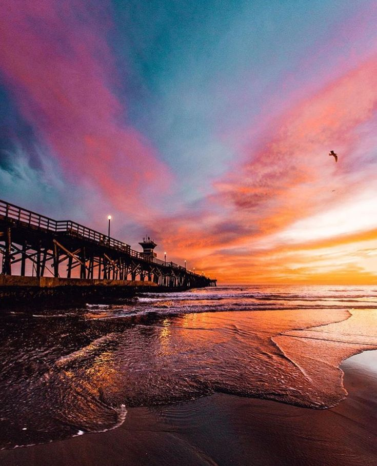 Seal Beach CA Sunset