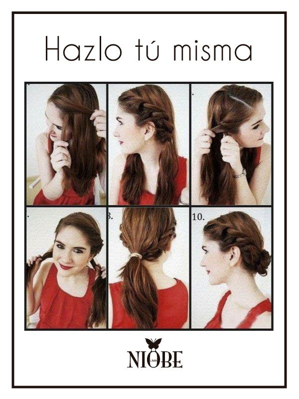 Un peinado sencillo y elegante ¿Para qué ocasión lo usarías?