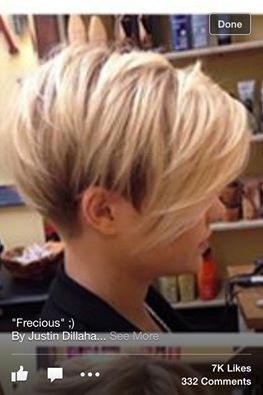 Cute hairstyle from sister's e-mail 07.15.14