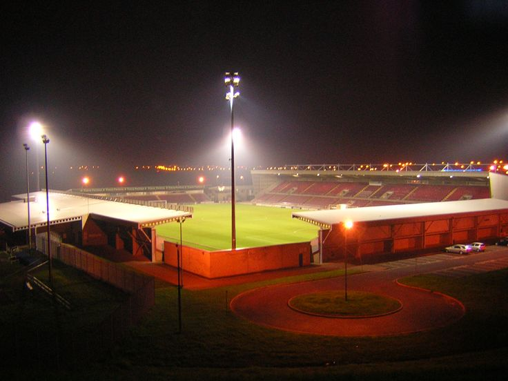 Northampton Town Football Club. Sixfields Stadium, Northampton, England