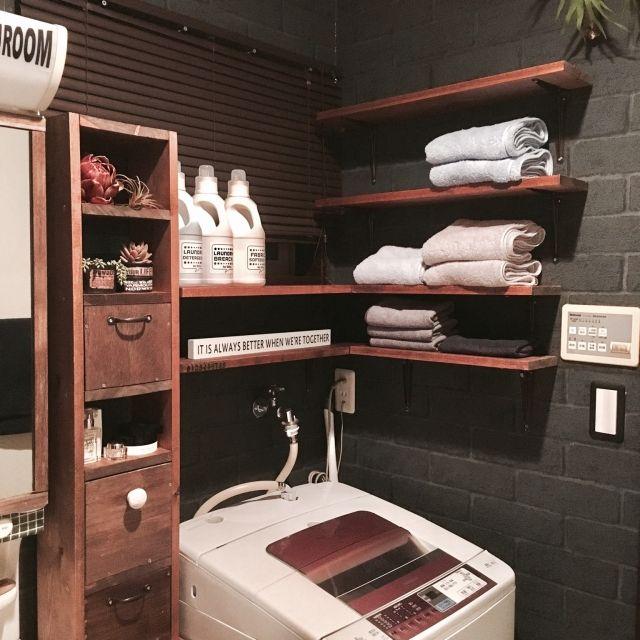 tomoさんの、バス/トイレ,DIY,男前,換気扇の下部,IG seigo_raina,DAUER HOLGEN,のお部屋写真