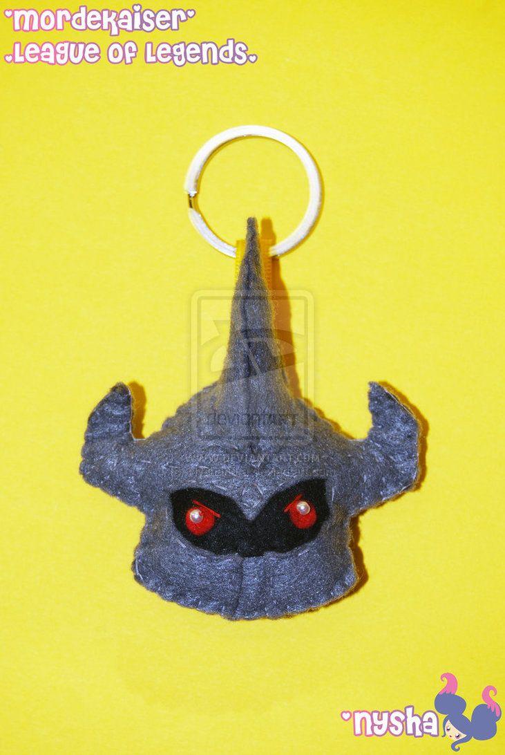 Mordekaiser keychain (NEW!) by Nyshandra
