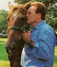 Armand Assante loves animals and still got all his horses