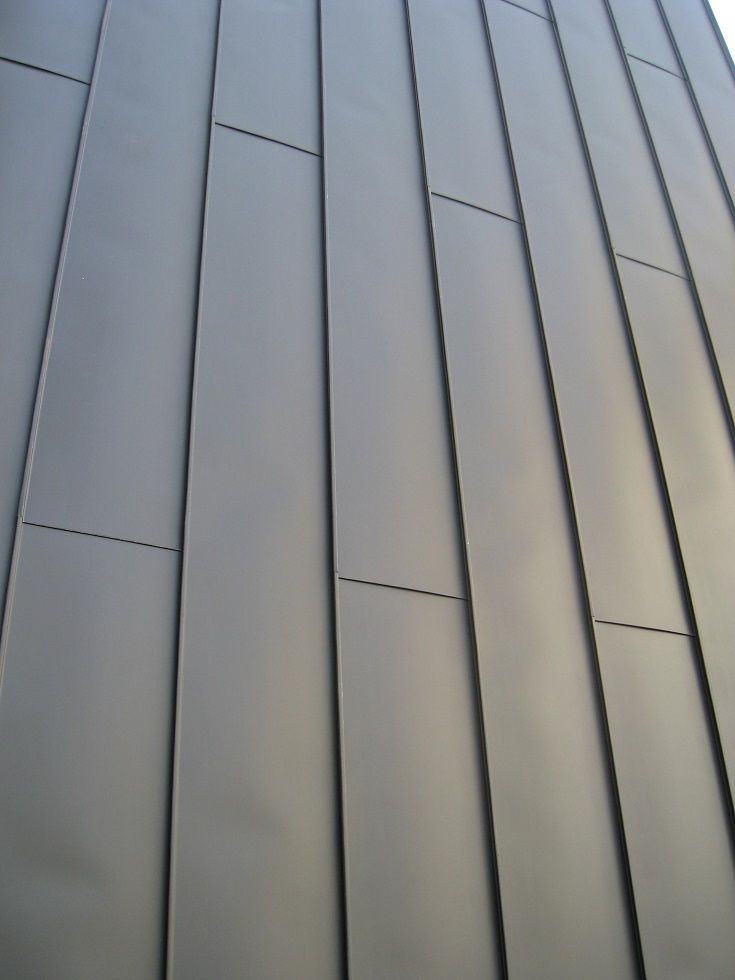 Standing Seam Zinc Cladding Google Search Cladding