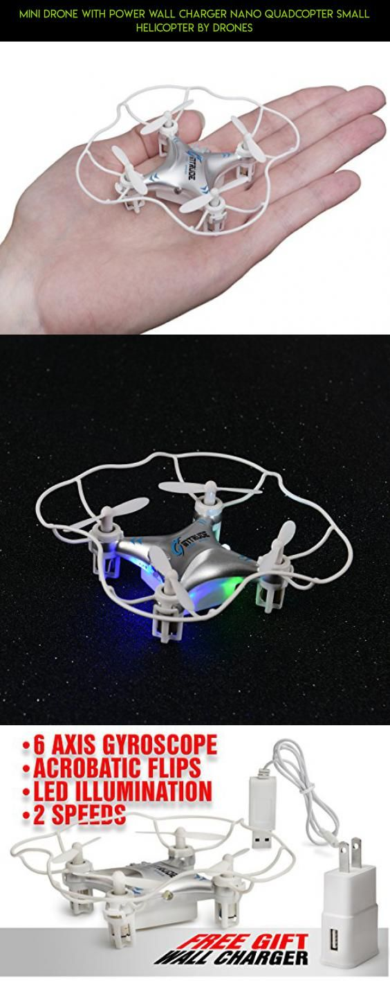 Mini Drone With Power Wall Charger Nano QUADCOPTER Small Helicopter By drones #shopping #cheerson #gadgets #camera #on #products #drone #technology #kit #tech #racing #plans #cx-10c #fpv #parts