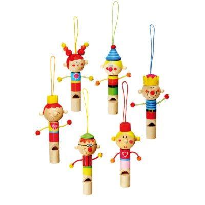 Drevené hudobné nástroje - Bino Drevená píšťalka