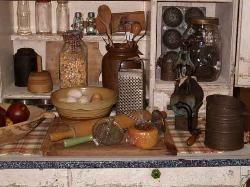 311 Best Primitive Kitchens Images On Pinterest