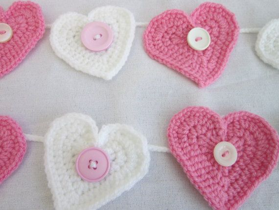 45 best Crochet Bunting & Garlands images on Pinterest | Hand ...