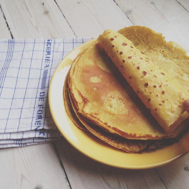 Velkommen ind i mors køkken.  De her pandekager, er über lækre, og er perfekte til aftensmaden. De er nemme at vende på panden, og kræver…