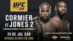 Watch UFC 214 Online Live Stream By WTFLIVETV in 4k Ultra HD Quality Using Any Device PC,Android,iPhone,Fire stick,Chromecast,Apple TV.  CORMIER VS JONES 2 UFC 214 PPV Hosted By WTFLIVETV ufc logo  UFC 214 CORMIER VS JONES 2 Event Detail: Date: July 29, 2017  Time: Early Prelims 6.30 PM ET/3.30 PM PT  Prelims 8 PM ET/3 PM PT  Main Card(PPV) 10 PM ET/7 PM PT  Venue: Honda Center Anaheim, California  PPV Provider: WTFLIVETV,UFC Fight Pass,Direct TV,Dish TV,Comcast  UFC 214 CORMIER VS JONES 2…
