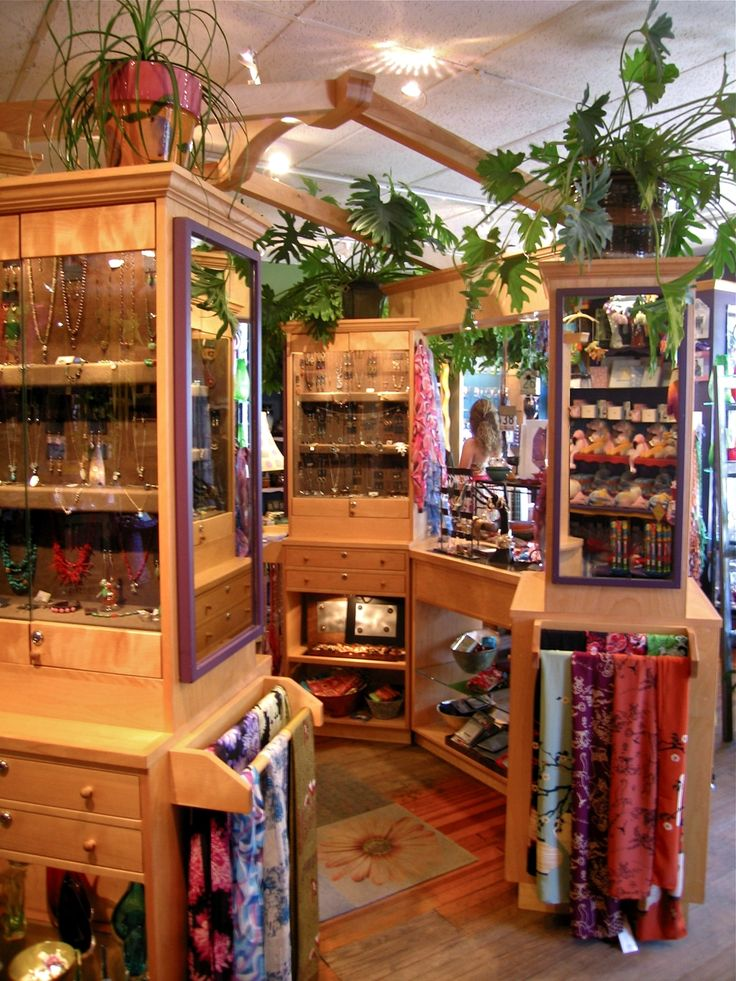 Custom Made The Artisan Center (Retail Store Fixtures) by Bruchaber Wood Design